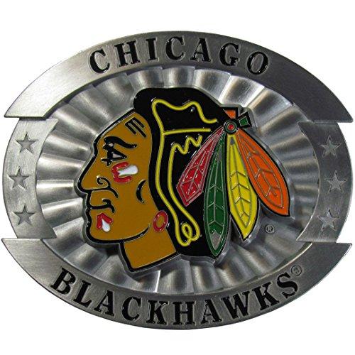 (Siskiyou NHL Chicago Blackhawks Oversized Belt Buckle, )