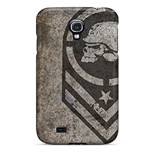 Excellent Galaxy S4 Cases Covers Back Skin Protector Metal Mulisha