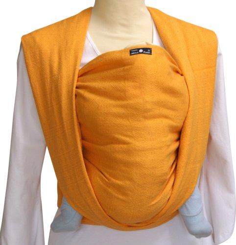 DIDYMOS Woven Wrap Baby Carrier Prima Sun Yellow Organic Cotton , Size 2