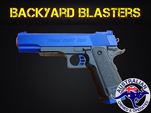 Detective M1911 Nerf Foam Dart Gun - Colt .45 ACP Toy Gun | Backyard Blasters (Toy Foam Blasters & Guns)