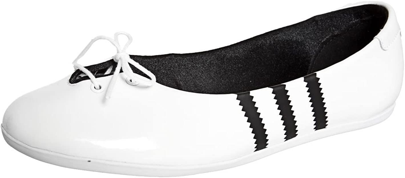 adidas Adi Ballerine W Femme Fille Ballerine Loisirs Vernis Blanc Aspect g96315