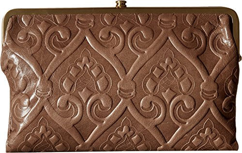 Hobo Women's Vintage Hide Leanne Crossbody Bag (Embossed Ash) by HOBO
