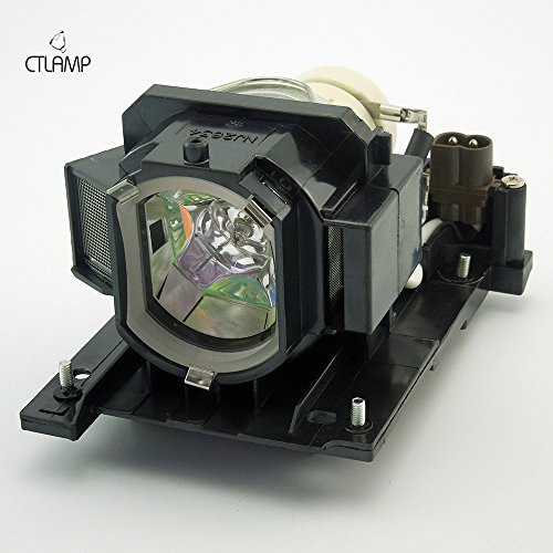 DT01021 - Lamp with Housing for Hitachi CPX2010LAMP, CP-WX3014WN, CP-X2010, CP-X2010N, CP-X4014WN, CP-X2011N, CP-X3014WN, CP-X2511, CP-X3011, CP-WX3011N, CP-X2011 Projectors