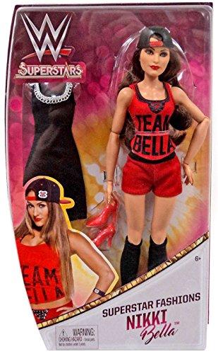 WWE Superstars Nikki Bella Fashion Doll Action Figure (Nikki Bella Outfit)