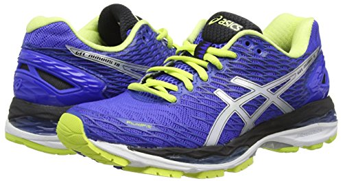 Femme Gel Asics nimbus Lime blue 18 Violet sunny Purple Compétition Chaussures De Running silver gBZqB4w