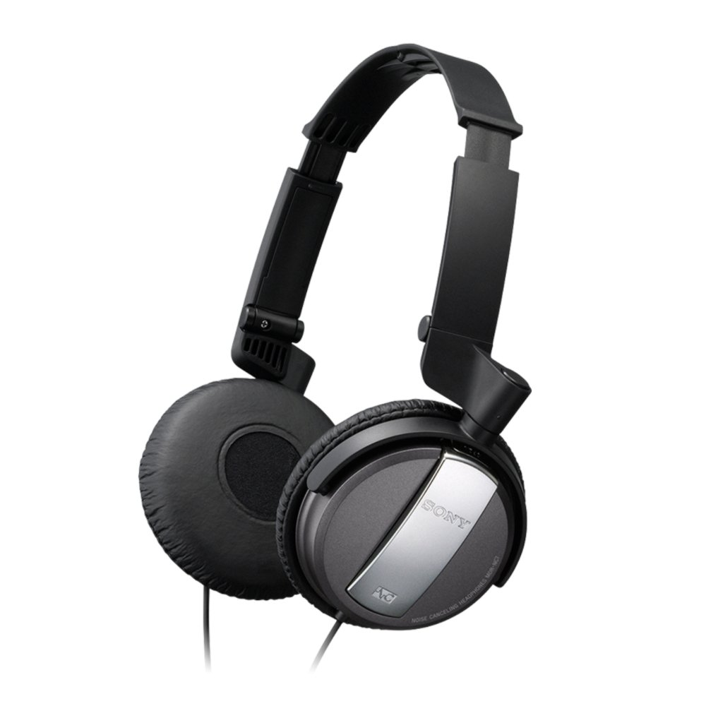 Sony Noise Cancelling Headphones MDR-NC7 B Black