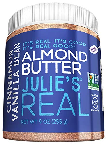 Julie's Real Almond Butter, Cinnamon Vanilla Bean, Paleo Friendly - Gluten & Peanut Free - ()