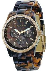 Michael Kors Women's MK5038 Ritz Tortoise Watch by Michael Kors
