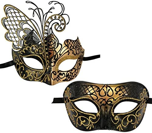Xvevina Couples Venetian Masquerade Accessory product image