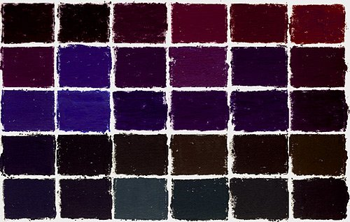 Terry Ludwig Soft Pastels- 30 Intense Darks Set II