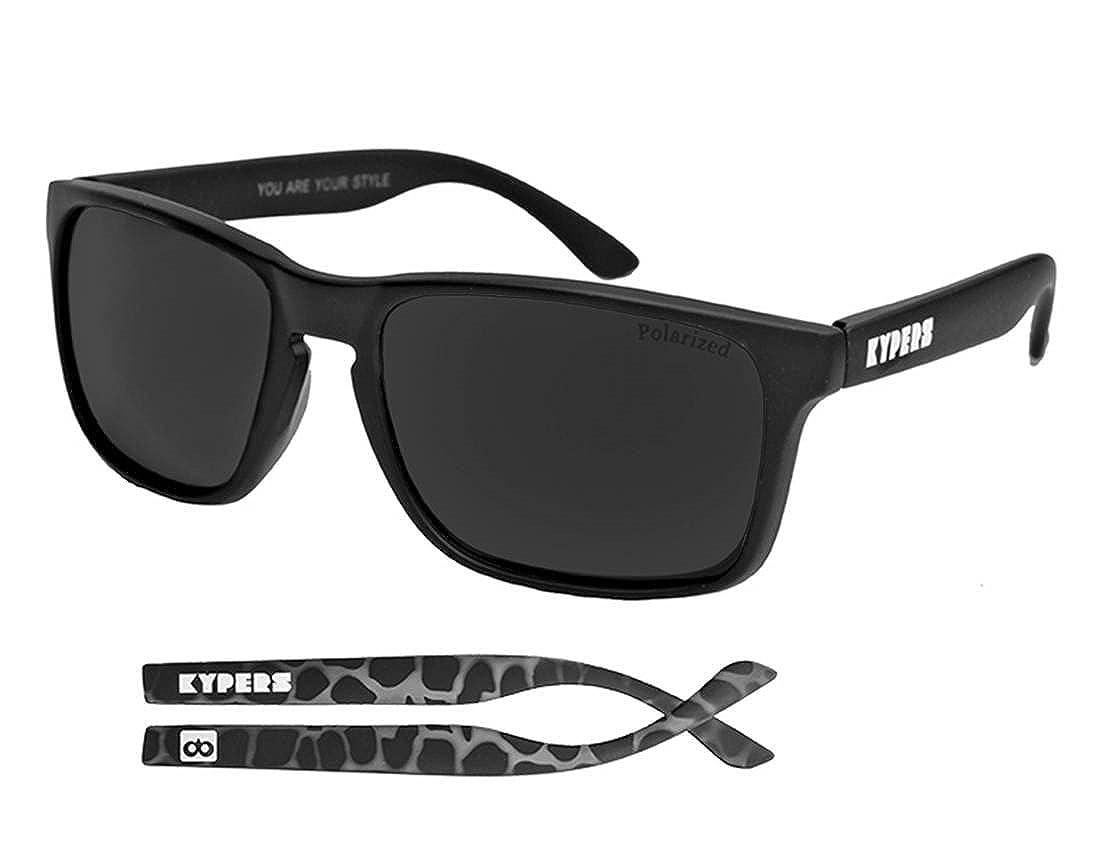 KYPERS Coconut Gafas de sol, Matte Black, 57 Unisex