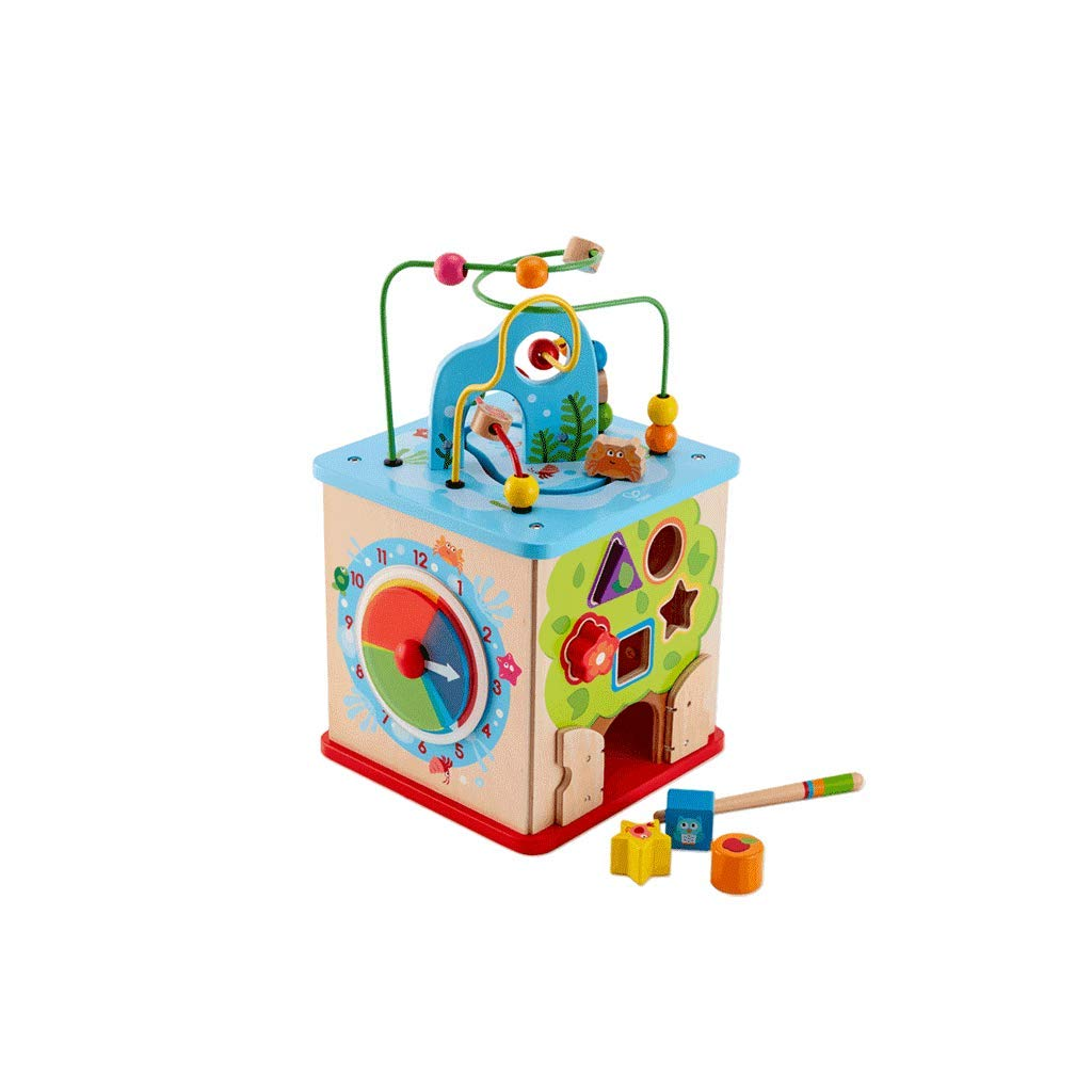 LIUFS-TOY Game Box Round Bead Treasure Box Beaded Large Creative Children's Educational Toys (Color : Multi-Colored, Size : L)