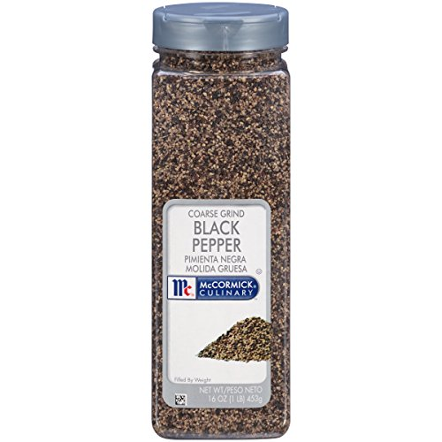 McCormick Culinary Coarse Grind Black Pepper, 16 oz (Pepper Salad)