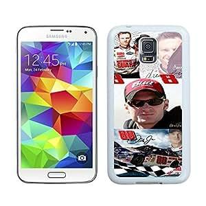 Beautiful Designed Case With Dale Earnhardt Jr White For Samsung Galaxy S5 I9600 G900a G900v G900p G900t G900w Phone Case