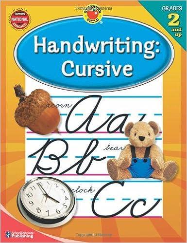 Workbook christmas grammar worksheets : Handwriting: Cursive, Grades 2 and Up: School Specialty Publishing ...
