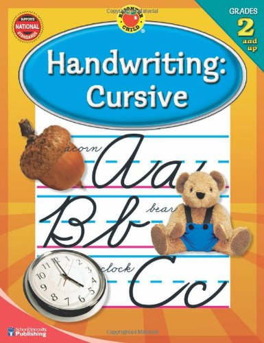 Handwriting: Cursive, Grades 2  and Up pdf epub