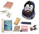 FLYMEI Cute Backpack for Girls, Lightweight Canvas