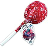 big blows candy - GIANT TOOTSIE ROLL POP container holds 8 Hard Candy Lollipops
