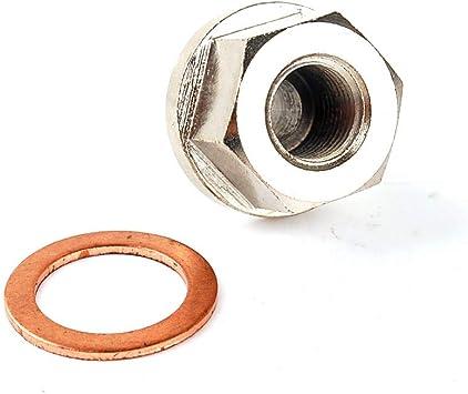 Smartturbo Steel Exhaust Temp Temperature Sensor Adapter M20x1.5 20mmx1.5 1//8NPT 1//8PT