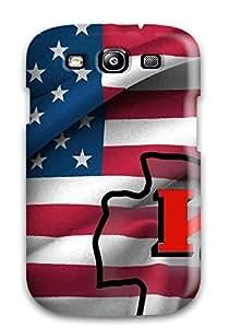 linJUN FENGDurable Protector Case Cover With Kansasityhiefs Hot Design For Galaxy S3