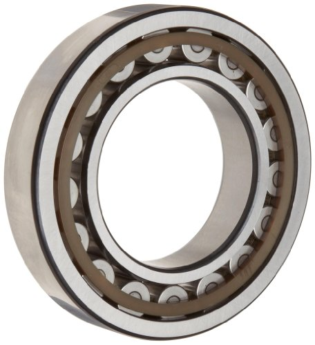SKF NU 318 ECP Cylindrical Roller Bearing, Removable Inner Ring, Straight, High Capacity, Polyamide/Nylon Cage, Metric, 90mm Bore, 190mm OD, 43mm Width, 3400rpm Maximum Rotational Speed, 80900lbf Static Load Capacity, 71700lbf Dynamic Load Capacity by SKF