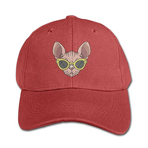 RZM YL Child Summer Sunglasses Sphynx Twill Adjustable Outdoor Peaked Hat Baseball - Glasses Kid With Cudi