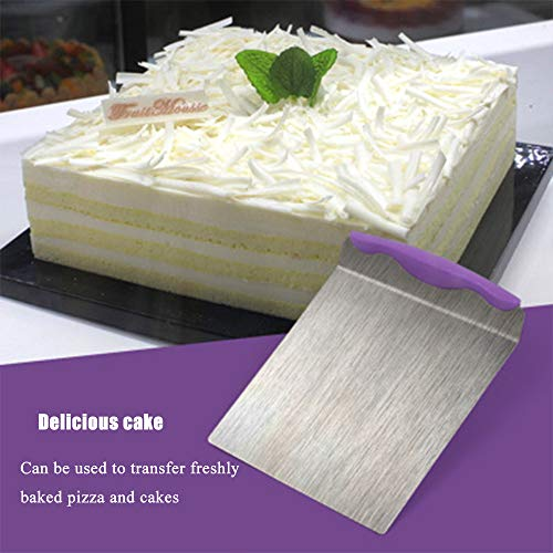 Kitchen Baking Cake Lifter Transfer Moving Spatulas Stainless Steel For Tools For Pizza Bread Pastry Baking