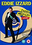 Eddie Izzard: Force Majeure Live [DVD] [2013]