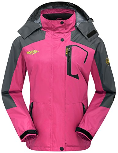 Wantdo Women's Water Resistant Windproof Active Wear Jack...