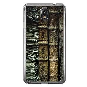 Loud Universe Samsung Galaxy Note 3 Madala N Marble A Book 2 Printed Transparent Edge Case - Green