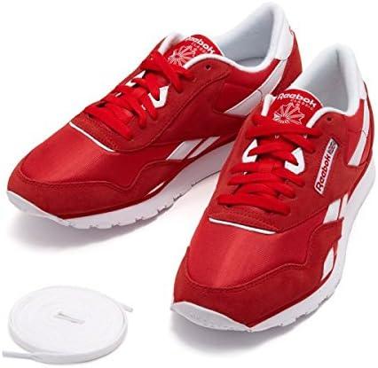 Escandaloso jurar Escritura  Amazon.co.jp: REEBOK CL NYLON Classic Nylon CN5860 18SP ABC-Mart Limited  Edition - red: Shoes & Bags