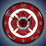 IAFF Lighted Wall Clock