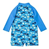 Sociala Toddler's Long Sleeve Rash Guard Babies One Piece Swimsuit