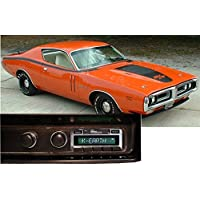 1971-1973 Dodge Charger USA-630 II High Power 300 watt AM FM Car Stereo/Radio with iPod Docking Cable