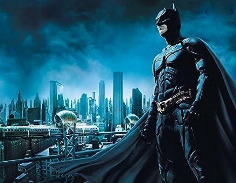 Amazon.com: Batman foto imagen comestible de cumpleaños 1/4 ...