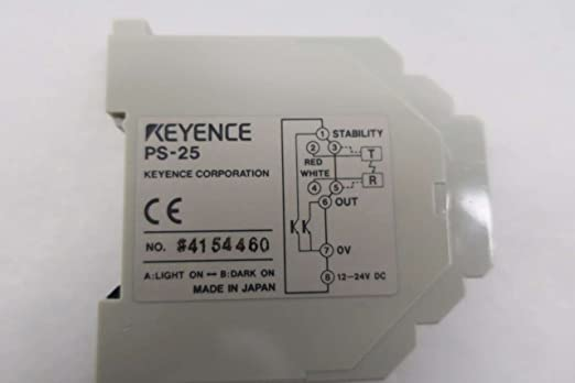 New in box KEYENCE PS-25 PHOTOELECTRIC SENSOR AMPLIFIER