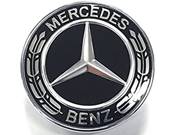 mercedes benz forum black hood emblem for 560sec