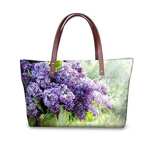 FOR U DESIGNS Japanese Style with Fresh Flowers School Shoulder Bags for Girls