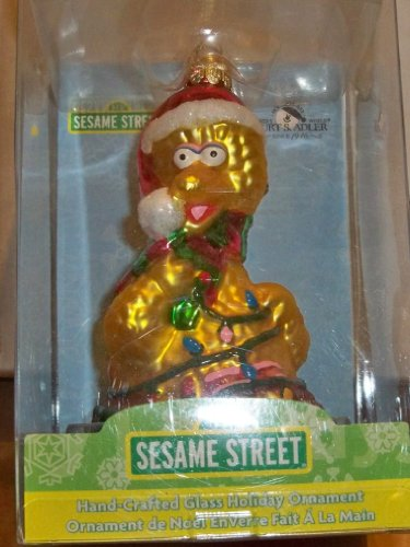Kurt Adler Sesame Street Big Bird Licensed Christmas Ornament