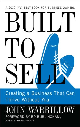 Built to Sell: Creating a Business That Can Thrive Without You (Best Bookkeeping For Small Business)