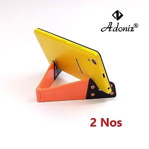 Adoniz Universal Foldable V Shape Tablet PC Desk Mobile Mount...