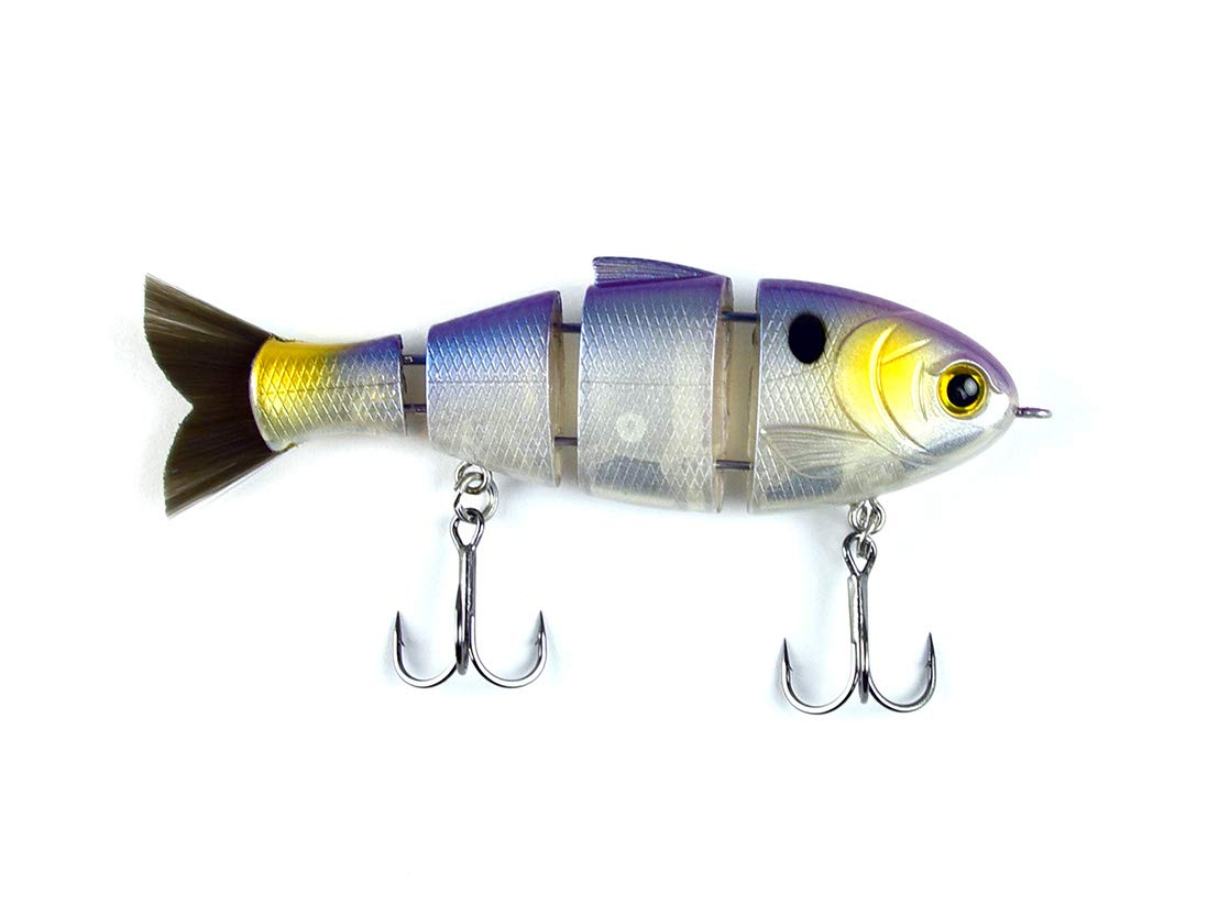 CATCH CO Mike Bucca's Baby Bull Shad Swimbait 3.75'' 1/2 oz Threadfin Shad by CATCH CO