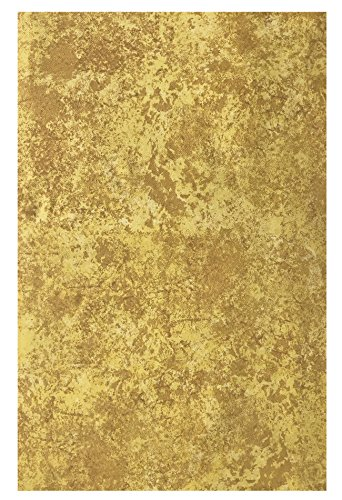 Cheap  Gold Milano Marble Solid Color Print Heavy Gauge Vinyl Flannel Backed Tablecloth,..
