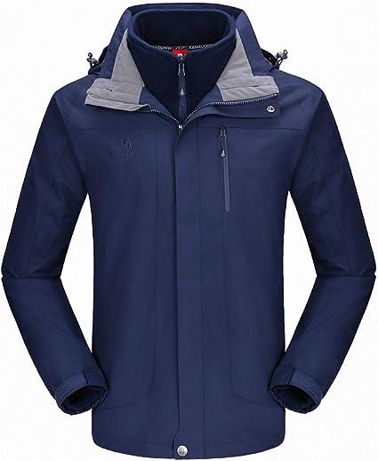 CAMEL CROWN Men's Ski Jacket 3 in 1 Jacket