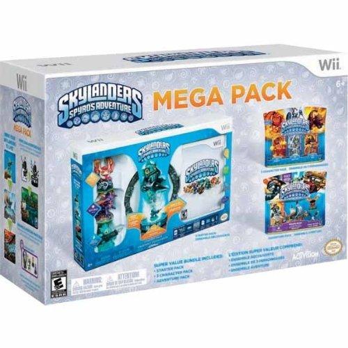 Wii Skylanders Spyros Adventure Mega Pack - Starter Pack + 2 Adventure Packs