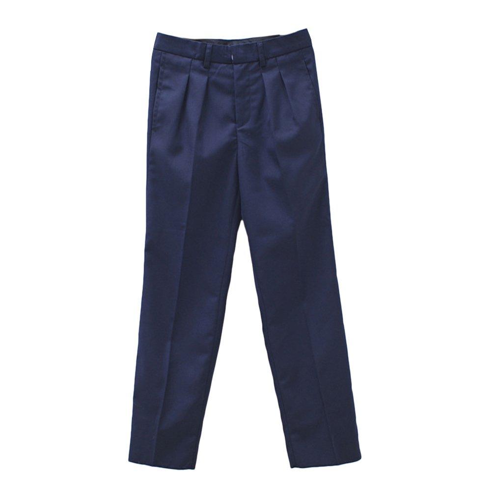Zhhlinyuan 2 Colors Kids Fashion Gentleman Pants Boys Wedding Formal Trousers