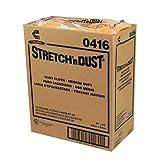 Chicopee Wipe, Industrial Cloth Yellowith Orange Stretch N Dust Towel 23.5X24-100 per case.
