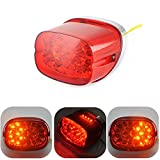 KEMIMOTO LED Turn Signal Tail Light for Sportster XL Dyna Road King Electra Glide FLHR FLHRCI FXD Brake Park Light Stop Lamp Red
