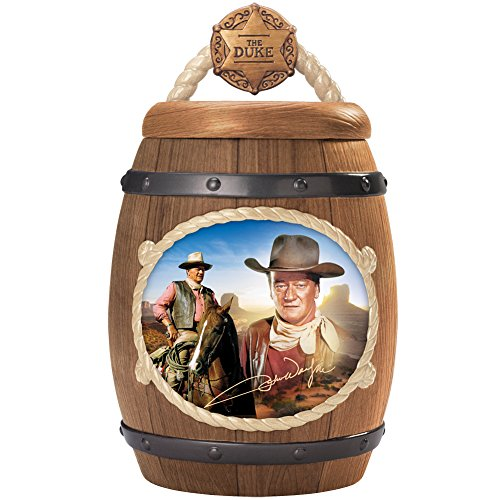 John Wayne One Tough Cookie Cookie Jar with FREE Recipe and Cookie Cutter by The Bradford Exchange