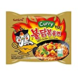Samyang Hot chicken Curry flavor ramen Halah 4.93 oz (140g) x5